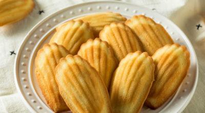 Быстрое печенье «Мадлен» по-домашнему