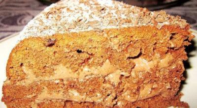 Быстрый торт «Доброе утро». Очень легко и просто