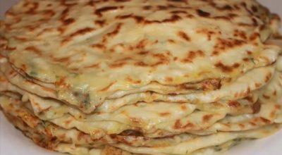Дагестанские лепешки с картошкой на кефире