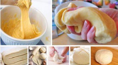 Идеальное тесто. 7 способов приготовления