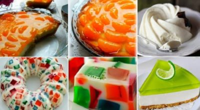 Изумительные, необычайно красивые десерты из нежного желе