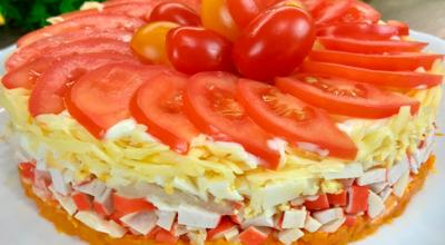 Красна Девица – пикантный салат со сногсшибательной подачей