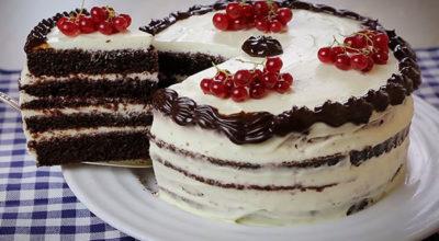 Настоящий торт в микроволновке. Это такая вкуснятина, что за считанные минуты от него не останется и следа