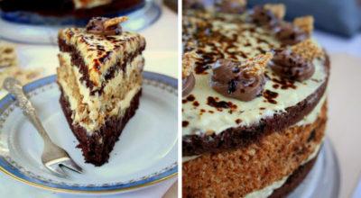 Необыкновенный торт из халвы — безумно вкусный