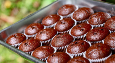 Очень вкусные шоколадные кексы