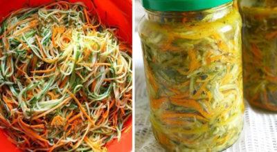 Огурцы по-корейски с морковью: изумительный салат
