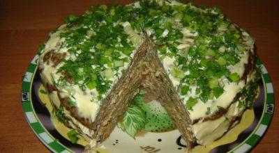 Печеночный торт. Самый вкусный вариант приготовления