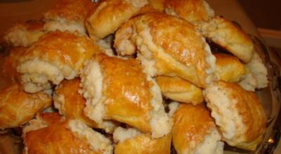 Песочное грузинское печенье «Када» с сахарной начинкой, делается быстро и легко