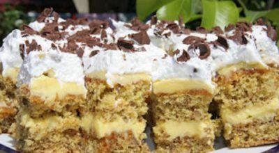 """Пирожное """"Петре Роман"""" – изумительный и простой в приготовлении десерт. Всего за 15 минут от вашего пирожного не останется ни одной крошки"""