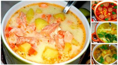 Подборка рецептов очень вкусных супов: сохраните