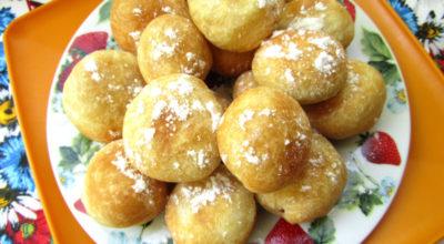 Пончики «Малинка» на кефире — вкусные и пышные