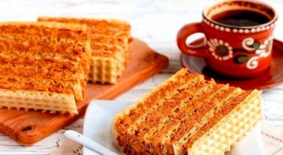 Рецепт крема для вафельных коржей. Очень быстро и вкусно