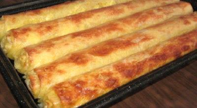 Рецепты закусочных рулетов из лаваша