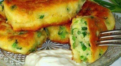 Самые ленивые пирожки с яйцом и луком за 10 минут…