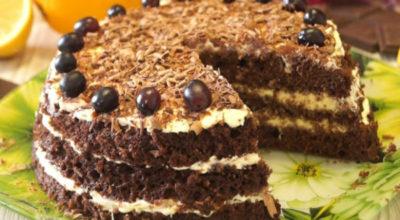 Самый быстрый и вкусный торт: за 20 минут вместе с выпечкой