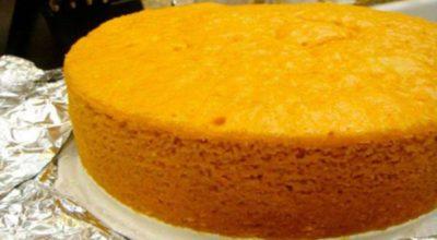 Секрет приготовления пышного бисквита