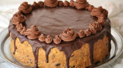 Шикарный тортик «Черная магия» на кефире с кофе