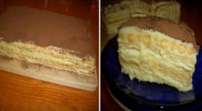 Торт «А-ля тирамису» — он намного вкуснее и дешевле