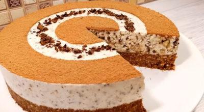 Торт без выпечки за 20 минут