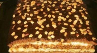 Торт «Домашний» с потрясающим вкусом