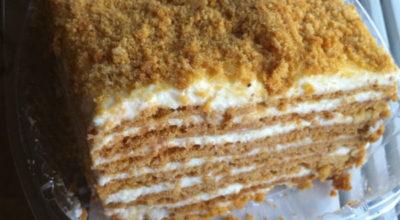 Торт «Домашний сметанник»