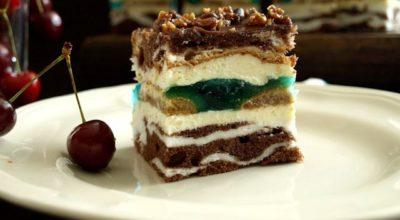 Изумительный торт «Глаза царицы»