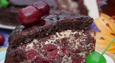 Торт «Пьяная вишня». Вот рецепт, о котором невозможно молчать…