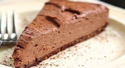 Торт «Шоколадная нежность» всего за 20 минут: просто и без выпечки