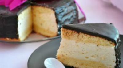 Торт-суфле Птичье молоко: Блаженство в каждом кусочке