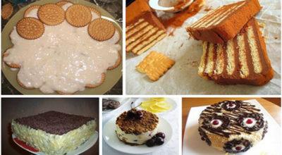 Эти торты из печенья не требуют выпечки. 5 лучших рецептов