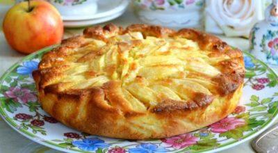 Удивительный деревенский яблочный пирог. Излюбленный десерт из Италии