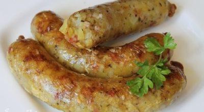 «Ведарай» — литовские картофельные колбаски на гриле