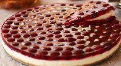 Вишневый торт без выпечки. Самый нежный и самый вкусный