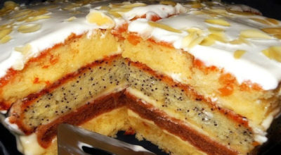 Вкуснейший торт «Сметанная королева»