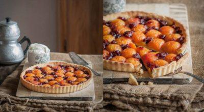 Вкусный и изысканный абрикосовый пирог