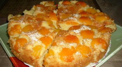 Вкусный пирог «Абрикосовый рай»