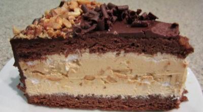 Воздушный торт «Сникерс». Просто супер