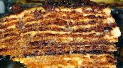 Заварной торт «Мадонна»: Идеальный вариант к любому празднику