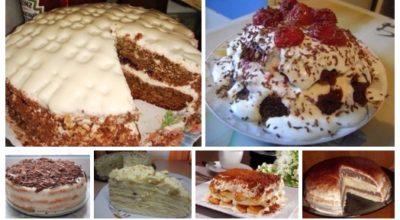 6 легких рецептов самых быстрых и вкусных тортов