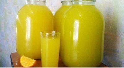 Апельсиновый лимонад. Вкусный и полезный напиток