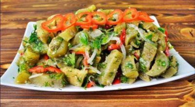 Баклажаны маринованные мгновенно — обалденный рецепт. Будете раздавать