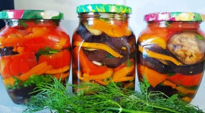Обалденные баклажаны с овощами на зиму