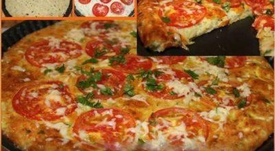 Интересная кабачковая пицца. Невероятно просто и быстро