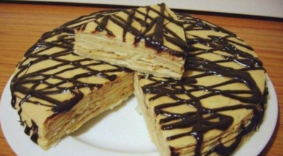 Идеальный десерт к чаепитию: Очень простой и вкусный тортик