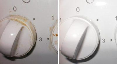Как быстро очистить ручки плиты. Тебе понадобится 1 бюджетное аптечное средство