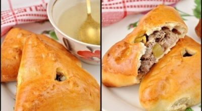 Как правильно приготовить эчпочмак (треугольные пироги с картошкой и мясом)