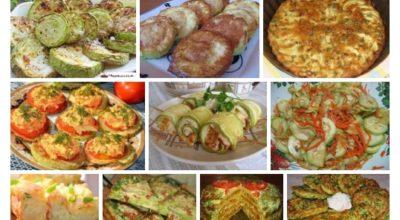 Лучшая подборка рецептов с кабачками