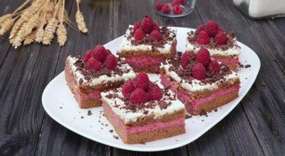 Малиновые пирожные: совершенно невозможно устоять