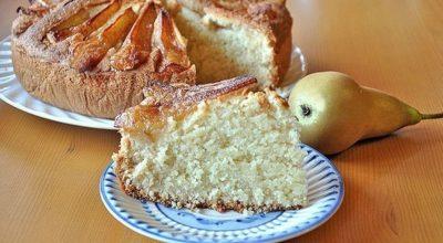 Манник «Грушевый». Простой пирог превращается в нарядный и вкуснейший десерт