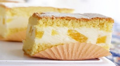 Невероятный торт с нежнейшим творожным кремом